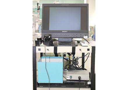 赤外線CCDカメラ(平衡機能検査)